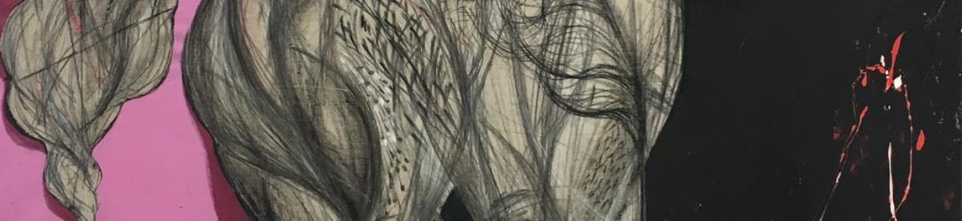Vluchteling kunstenaar Oussama Diab